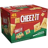 Cheez-It White Cheddar Cracker, 45/Ct