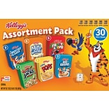 Kelloggs® Cereal Assortment Pack Mini Boxes 30/CS