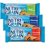Nutri-Grain Cereal Bars Apple Cinnamon, Blueberry, & Strawberry, 48/Cs