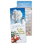 Dental Holiday Calendar Cards; Snow & Sand/Smile
