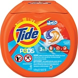 Tide® PODS HE Laundry Detergent, Ocean Mist Scent, 42 Pods/Pack