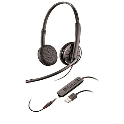 Plantronics Blackwire C325-M Stereo with Microphone Headset
