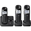 Panasonic KX-TGL433B Expandable Cordless Phone with Comfort Shoulder Grip and Answering System with