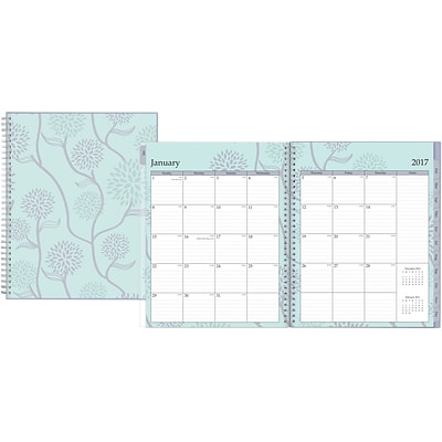 2017 Blue Sky Rue Du Flore Weekly/Monthly Planner 8.5x11 (18399)