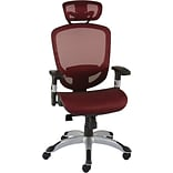 Quill Brand® Hyken™; Technical Mesh Task Chair, Red