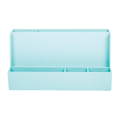 Office by Martha Stewart™ Stack+Fit™ Tech Organizer, Blue (29690)
