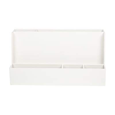 Office by Martha Stewart™ Stack+Fit™ Tech Organizer, White (29689)