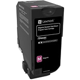 Lexmark CS720, CS725, CX725 Magenta Return Program Toner Cartridge, Standard Yield