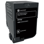 Lexmark CS720, CS725, CX725 Black Return Program Toner Cartridge, Standard Yield