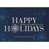 Holiday Expressions® Holiday Cards; Happiest Year, Gummed Envelopes