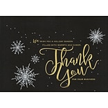 Holiday Expressions Holiday Cards; Starlight Gratitude, w/Gummed Envelopes