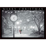 Holiday Expressions®, Midnight Walk Christmas Cards With Self-Stick Envelopes