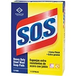 S.O.S Steel Wool Soap Pad, 15 pk, 180 ct