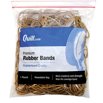 Quill Brand® Premium Rubber Band, #117, 7 x 1/8, 1 lb. Bag (90117/790117)