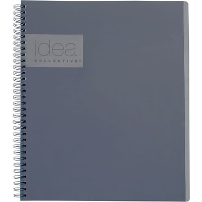 Idea Collective® Action Notebook, 11 x 8 1/4, Gray (57019IC)