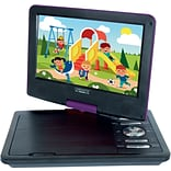 Cinematix® 9 Portable DVD Player; Purple