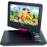 Cinematix® 9 Portable DVD Player; Pink