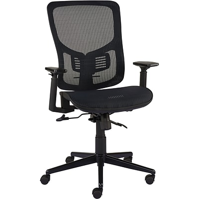 quill brand kroy mesh task chair black quill com