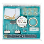 Erin Condren Do-It-All Desk Set, Metallic (...