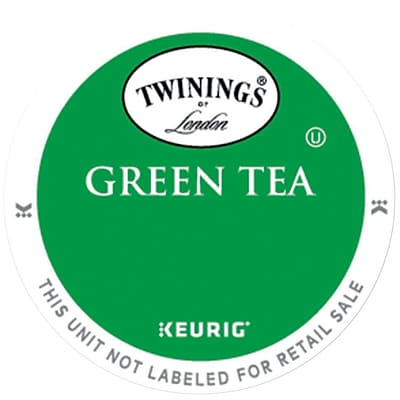 Twinings® Green Tea, Keurig® K-Cup® Pods, 24/Box (08759)