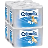 Kleenex® Cottonelle® Ultra Soft Standard Roll Bathroom Tissue, 150 Sheets/Roll, 12 Rolls/Pack, 4 Pac