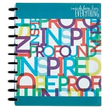 Arc System 12 Month Undated Planner, Assorted, 8-1/2 x 11 (50055)