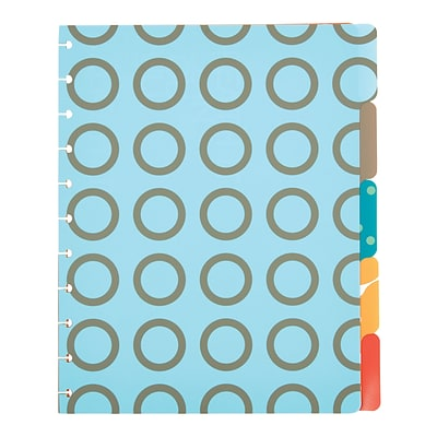 Arc System Tab Dividers, Assorted Patterns, 9 x 11 (50045)