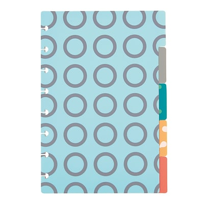 Arc System Tab Dividers, Assorted Patterns, 6 x 8-1/2 (50046)