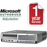 HP DC7700 Ultra Small Form Factor/Core2Duo-1.86GHz/2GB RAM/160GB HDD/DVD-CDRW Drive/W10HP