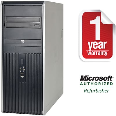 HP DC7800 Tower/Core2Duo-2.33GHz/4GB RAM/750GB HDD/DVD-CDRW Drive/W10P64