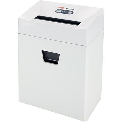 HSM® Pure 320 Strip-Cut Shredder, Shreds Up to 18 Sheets, 6.6 Gallon Capacity