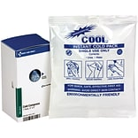 First Aid Only Cold Compress, 4 x 5 , 1/Box