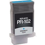 Quill Brand Remanufactured Canon PFI-102C Cyan Pigment Ink Cartridge (100% Satisfaction Guaranteed)