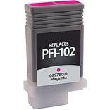 Quill Brand Remanufactured Canon PFI-102M Magenta Pigment Ink Cartridge (100% Satisfaction Guarantee