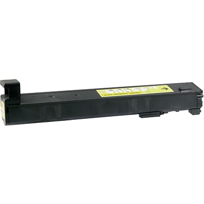 Quill Brand Remanufactured HP 827A Yellow Toner Cartridge (CF302A) (100% Satisfaction Guaranteed)