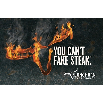 LongHorn Steakhouse Gift Card $100