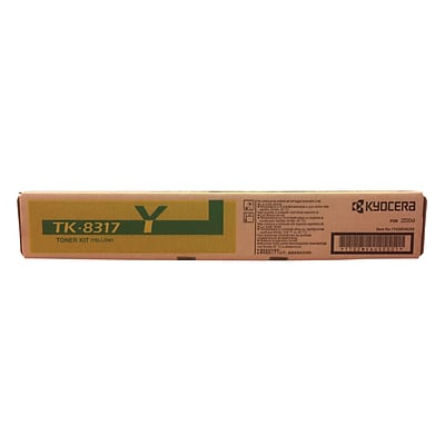 Kyocera/TK-8317Y/Yellow Toner Cartridge (KYOTK8317