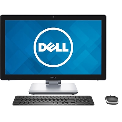 Dell Inspiron i7459-7070BLK 23.8 Touchscreen All-in-One Desktop PC (Intel Core i7-6700HQ, 16GB RAM, 1TB HDD + 32GB SSD)