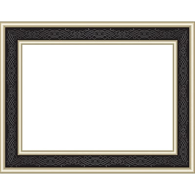 Great Papers! Black Frame Foil Certificate , Black/Gold, 15 Count (20103772)