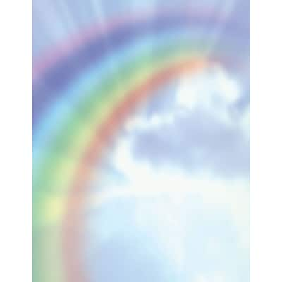 Great Papers! Rainbow Bright Letterhead   8.5 x 11  80 count (2013193)
