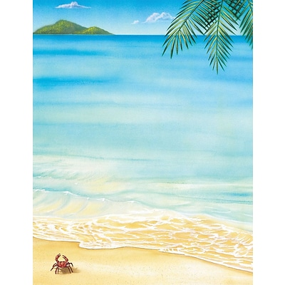 Great Papers! Tropical Letterhead 8.5 x 11 80 count (2014233)
