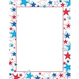 Great Papers! Red White And Blue Stars Letterhead 8.5 x 11 80 count (2014246)