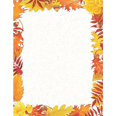 Great Papers! Fall Foliage Letterhead, 8.5 x 11, 80 Count