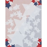 Great Papers! Stars Letterhead, Multicolor, 80/Pack (2014285)