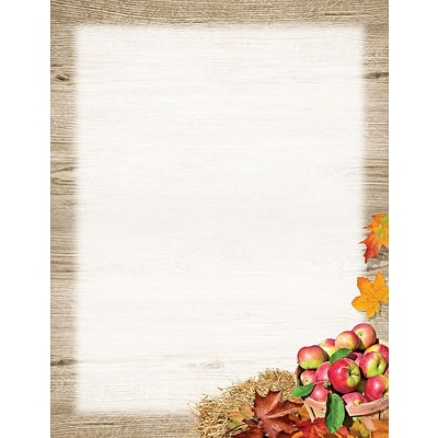 Great Papers! Autumn Apple Letterhead  8.5 x 11 80 count (2015088)