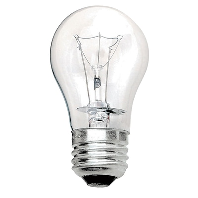Philips® 40W Incandescent A15 Light Bulb, Medium Screw Base, 12/Pack (169342)