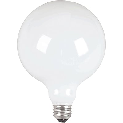 Philips Incandescent Frosted G40 Globe Lamp, 60 Watts, 12PK