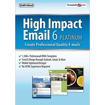 Individual Software High Impact Email 6 Platinum for Windows (1 User) [Download]