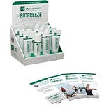 Buy 1 BIOFREEZE® Retail Starter Kit, Get 1 gel, 1 roll-on and 1 spray FREE