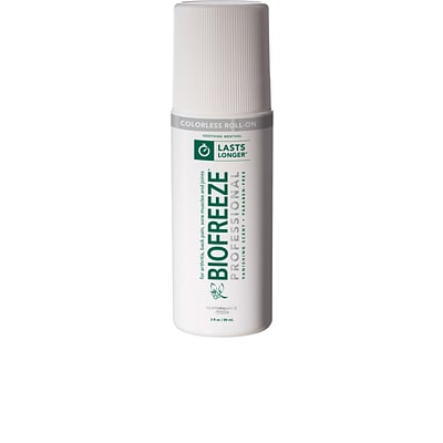 BIOFREEZE® Professional Roll-On; Colorless, 3-oz., 12-Pack